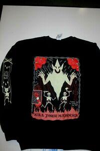 Kill Your Masters Pullover sweater Anti Government Protest MLK Malcolm X Retro