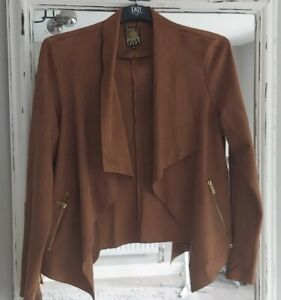 ❤️BIBA Tan Suede Jacket, 18 ❤️RRP 79.99