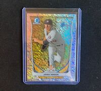 EXTINCT Josh Hader 2014 Bowman Chrome Rookie RC Shimmer Refractor /15 Non Auto