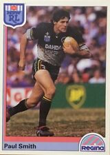 1992 NRL REGINA PENRITH PANTHERS PAUL SMITH #42 CARD FREE POST