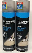 2 STAINMASTER CARPET HIGH TRAFFIC CLEANER Removes Ground-In Dirt 22 oz