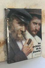 Beau libro - Las archivos de la planeta - la France - N°1 - Kahn Brunhes - 1978