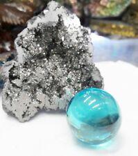 Rare Naga Eye Light Blue Magic Thai Amulet Lucky Rich
