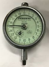 Federal Wc3k Dial Indicator With Flat Back 0 050 Range 00025 Graduation