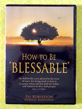 How to Be Blessable ~ New DVD Movie ~ 2007 Pat Robertson CBN Sealed Video & CD