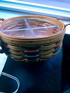 Longaberger 2000 Woven Traditions Darning Basket