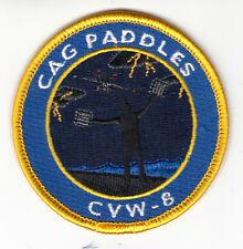 CVW-8 CAG PADDLES SHOULDER PATCH