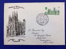 FDC Canterbury Philatelic Society Golden Jubilee 1969