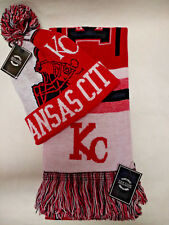"""Kansas City Chiefs Team Color """"SUPER""""  Scarf and Pom  Beanie knit hat Gift Set"""