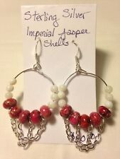 Handmade Jewelry one of a kind unique sterling silver Jasper