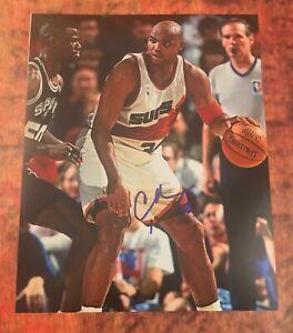 GFA Phoenix Suns Legend * CHARLES BARKLEY * Signed 11x14 Photo COA