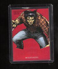 2017 Upper Deck Spiderman RED Precious Metal Gems Wolverine  MM33 card  86/99