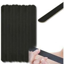 10PCS Nail Art Black Sanding File Buffer For Salon Manicure Polisher Tool Kj