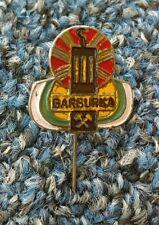 BARBURKA Poland, mine, mining, antique pin badge !