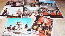 UN HOMME POUR L' ETERNITE  ! jeu 8 photos cinema lobby cards 1966