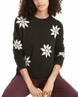 Madewell Floral Intarsia Wool-Blend Sweater Women's