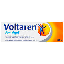 VOLTAREN EMULGEL 150G TREATS LOCAL MUSCLE PAIN & INFLAMMATION SPRAINS STRAINS
