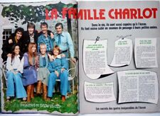 LES CHARLOTS => coupure de presse 2 pages 1976 /  FRENCH CLIPPING