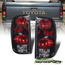 For 1995 1996 1997 1998 1999 2000 Toyota Tacoma Black Smoke Tail Lights Pair