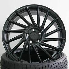 19 Zoll Keskin KT17 Matt Black 8,5x19 ET30 5/100 für Audi TT Typ 8N