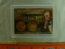 2009 P&D PROFESSIONAL LIFE LINCOLN BICENTENNIAL CENT SET IN COLORFUL 2X3 HOLDER
