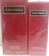 D&G Pour Femme Edt 25ml Spray + GIFT Deo Roll-On 50ml Vintage - New & Rare