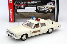 Dodge Monaco Illinois State Police Baujahr 1974 1:18 autoworld