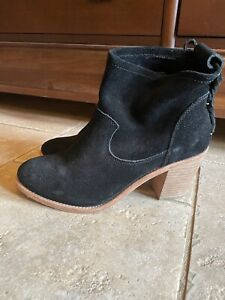 Soludos Black Booties Size 8