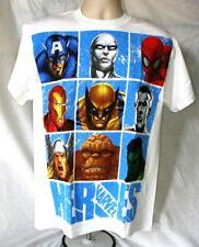 AVENGERS MARVEL HEROES T-shirt officiel (M) OG bd neuf avec étiquettes R04