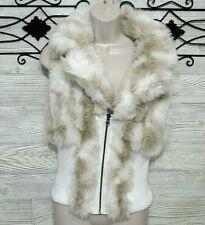 Arden B Women's Faux Fur Vest Size  M Multicolored New