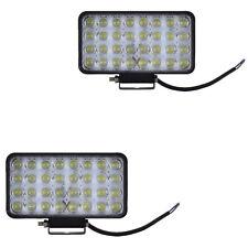 2x 96W LED Off Road Spot Lights Work Light Lamp Boat Truck SUV Jeep 12V 24V