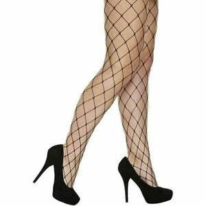Women Whalenet Fishnet Tights Halloween Fancy Dress Ladies Casual Party Tights