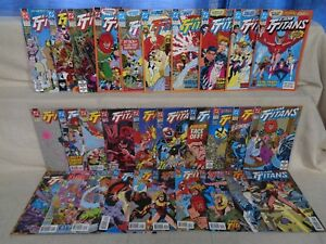 Teen Titans ('92) 1-24, Ann 1-2 + 4 Alternate Covers #1 COMPLETE SET! b 20815