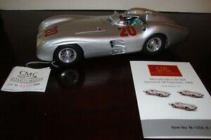 1:18 CMC KARL KLING 2ND FRENCH GP 1954 MERCEDES-BENZ W196R M-128B