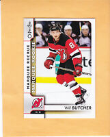 2017 18 O PEE CHEE WILL BUTCHER MARQUEE ROOKIE #636 NEW JERSEY DEVILS RC