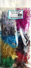 Crystal Hackle Ice Chenille SET of 10x colors -Steelhead Streamers Woolly Bugger