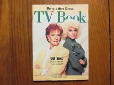 May 19, 1991 Detroit Free Press TV Book/ Mag(JULIE ANDREWS/ANN-MARGRET/OUR SONS)