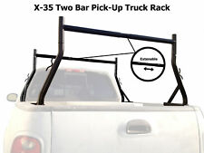 Universal Pickup Truck Ladder Rack  Adjustable 800Lb Contractor Lumber Utility