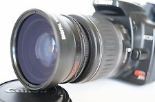 Macro Wide Angle Lens for Canon Eos Digital Rebel T 7/6 i XTi sl1 w/18-55 EFS II