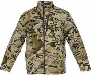 Under Armour Timber Hunting Jacket Camo Camouflage Green Brown Reaper Barren Men