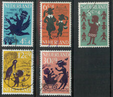Netherlands 1963 Child Welfare set used *COMBINED SHIPPING*