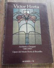 Victor Horta Architetto e Designer (1861-1947). Opere dal Musée Horta di Bruxell