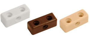 Modesty Blocks Kitchen Cabinet Cupboard Fixing Joint Connector White Brown Beige
