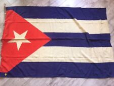 Rare !!!!  Socialist Cuba USSR Flag Navy Fleet Original Wool Soviet