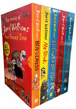 David Walliams Collection 5 Books Box Set Rat Burger, Gangsta Granny Mr Stink