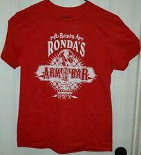 WWE Slam Crate Exclusive Rowdy Ronda Rousey Red T-Shirt Size Large Loot Crate