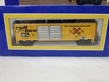 Life Like 7736 N Gauge Rail Box Goods Wagon, 2 Rail DC