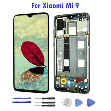 For Xiaomi Mi 9 LCD Display Touch Screen Digitizer Assembly Replacement Frame A+