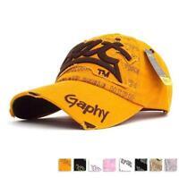 Fashion Mens Women Outdoor Sports Baseball Golf Tennis Hiking Ball Cap Hat Hot #