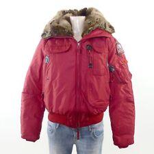 PARAJUMPERS Gobi Daunen Jacke Masterpiece Blouson Rot Fellkapuze Gr.L